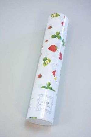 Billig papir bordløber - engangs bordløber med jordbær