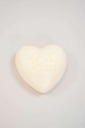 Fåremælk sæbe - håndsæbe bar -hjerte sæbe