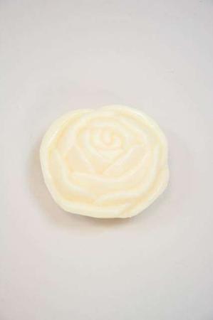 Fåremælk sæbe - håndsæbe bar hvid rose