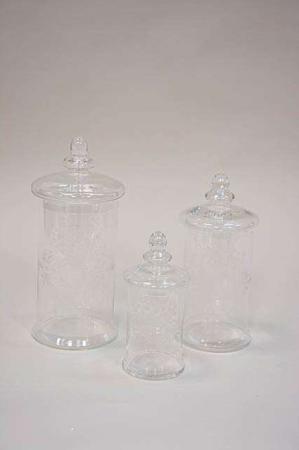 opbevaringsglas sæt med slibninger