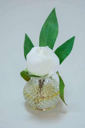 Blomst i vase fra Sia - Sia blomst i gele - Blomst lille fra Sia