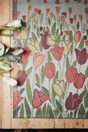 Ekelund tulipanhav bordløber i økologisk bomuld