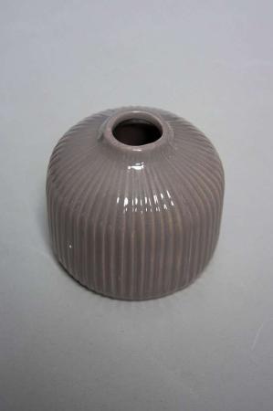 Lille vase - grå