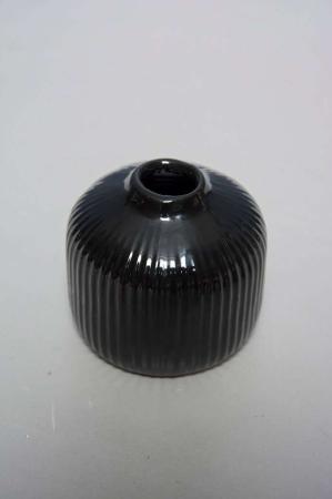 Lille vase - sort