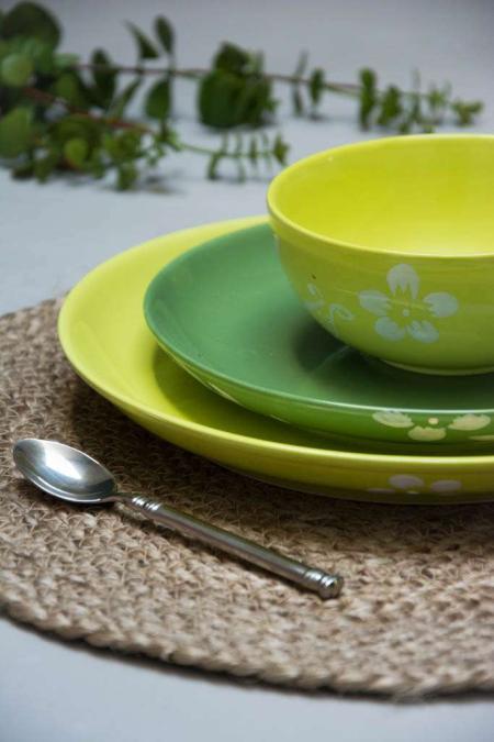 Grønne tallerkener