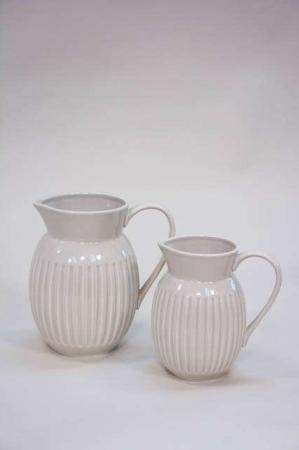 Keramik kande til vand - sandfarvet grace