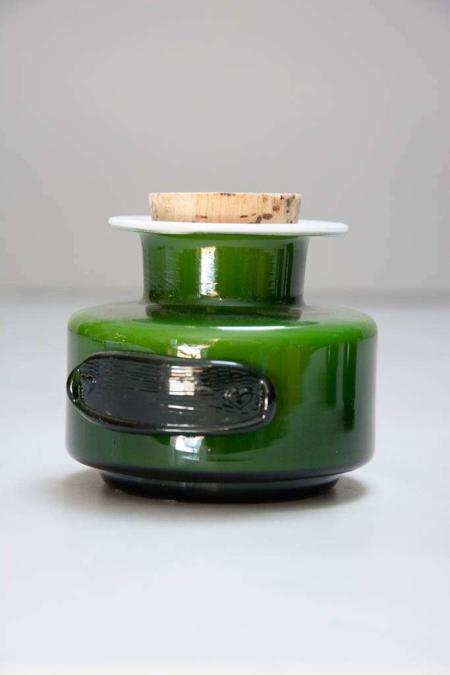 Krydderikrukke fra Holmegaard - olivengrøn.jpg