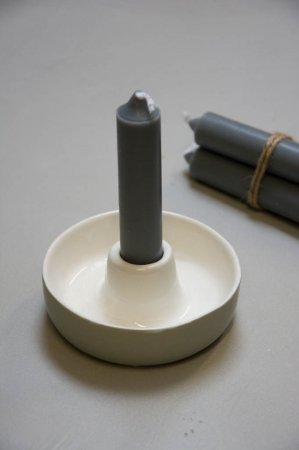 Lille keramik lysestage