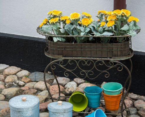 Blomster kasse