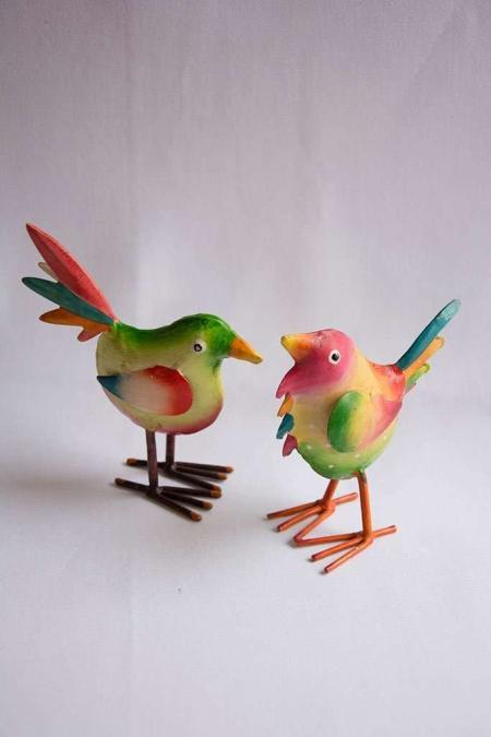 Multifarvet fugle
