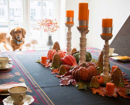Efterårs bord