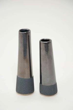 Blå vase - Rustik vase