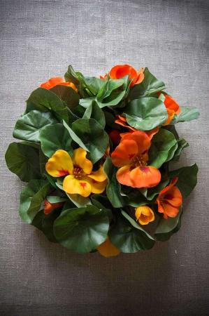 Blomsterkarse krans