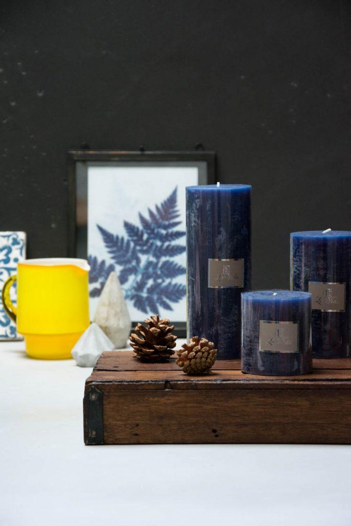 Inspiration til efteråret 2017 - blå og gul