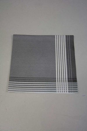 Kraftig grå serviet