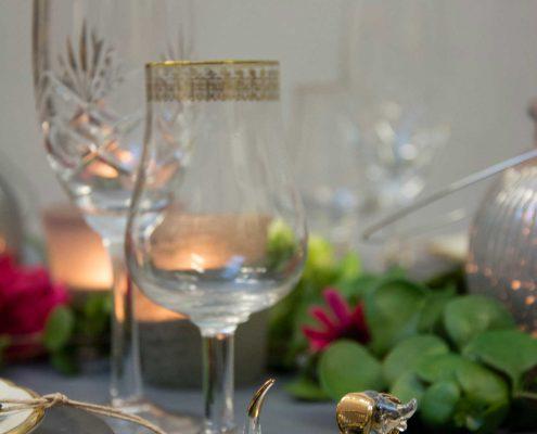 Eksklussivt nytårsbord 2019. Nytår med stil. Classy new year. Champagne til nytår.