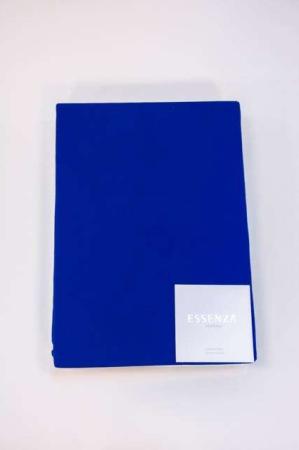 Essenza stræklagen 180 x 200 -konge blå