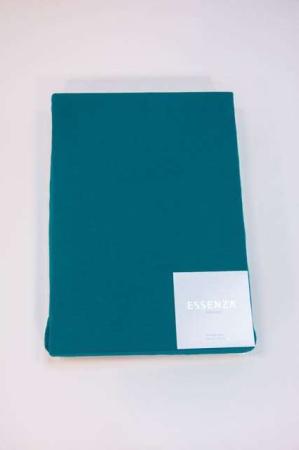 Essenza stræklagen 180 x 200 - petroliumsfarvet