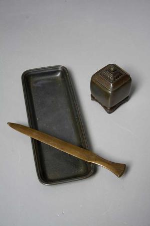 AntikAntik skrivebordssæt Just Andersen
