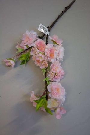 Kunstig lyserød æblegren