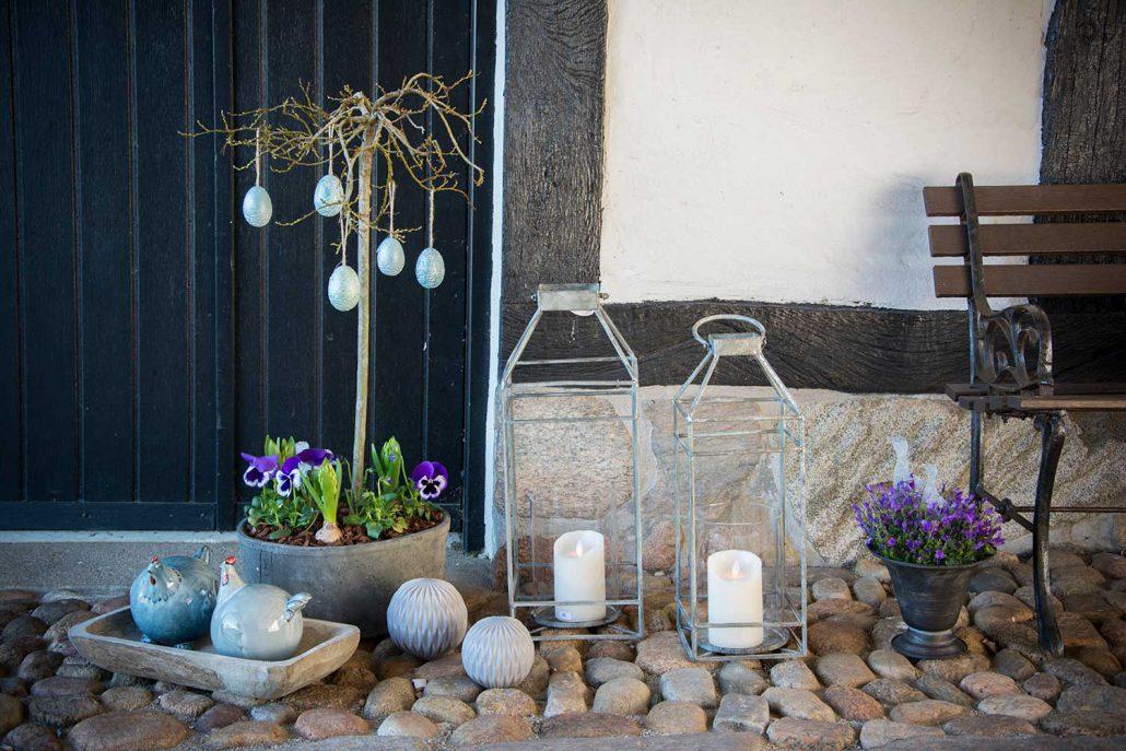 Pynt til haven og hoveddøren i det tidlige forår - Inspiration, tips ...