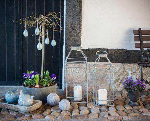 Pynt til haven - krukker og lanterner