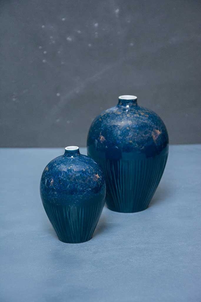 blå keramik Keramik Vaser. Affordable Miniatyrer Stycken Keramik Bla Jo With  blå keramik