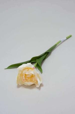 Kunstig hvid tulipan - Afskårne blomster