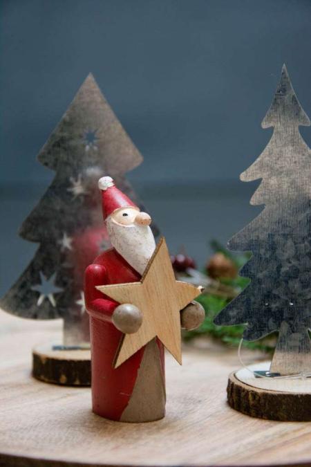 Julepynt 2017 - julemand med stjerne