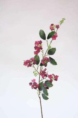 Kunstig lilla gren - Kunstig gren med blomster - Kunstig blomstrende gren