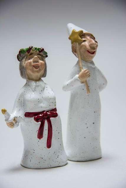 Lucia figurer fra harvesttime