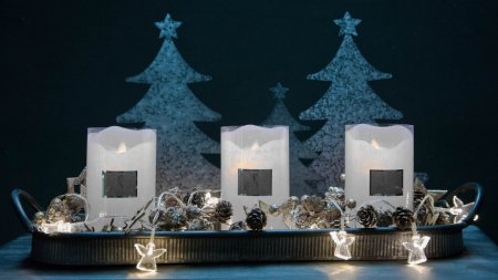 Juledekoration med LED lys - alternativ til levende lys