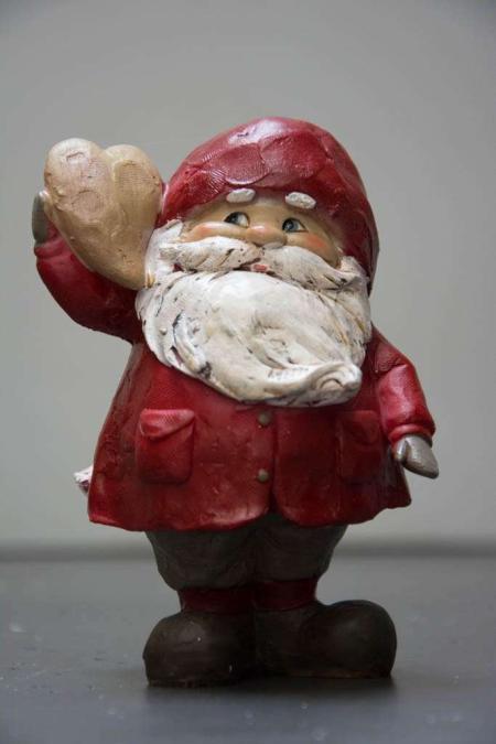 Julepynt - julemand med hjerte