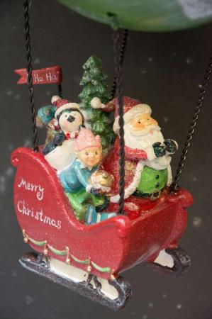Pynt til jul - Julemand i luftskib