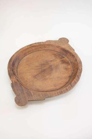 UNIKA træfad fra Ib Laursen. Smukt mørkt træfad rustikt