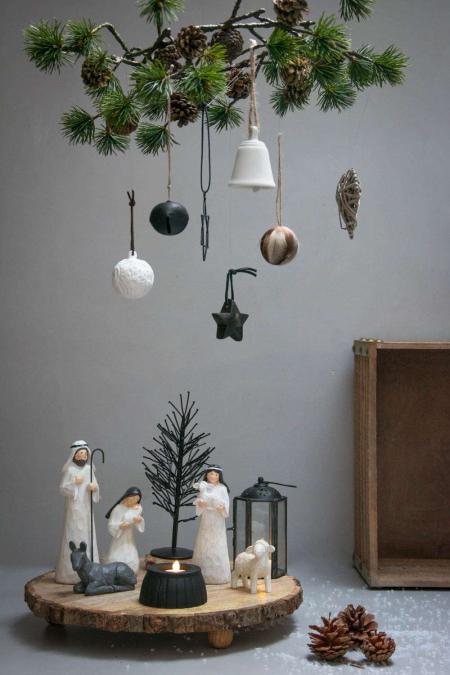 Brug din juletræspynt kerativt