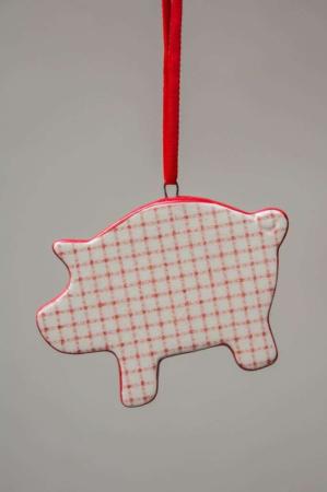 Juleophæng - jule gris
