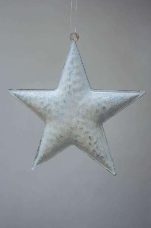 Juleophæng - metal stjerne