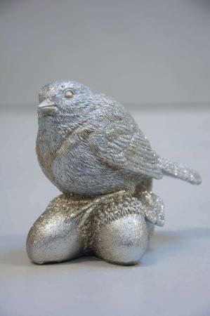 Julepynt - Fugl på agern