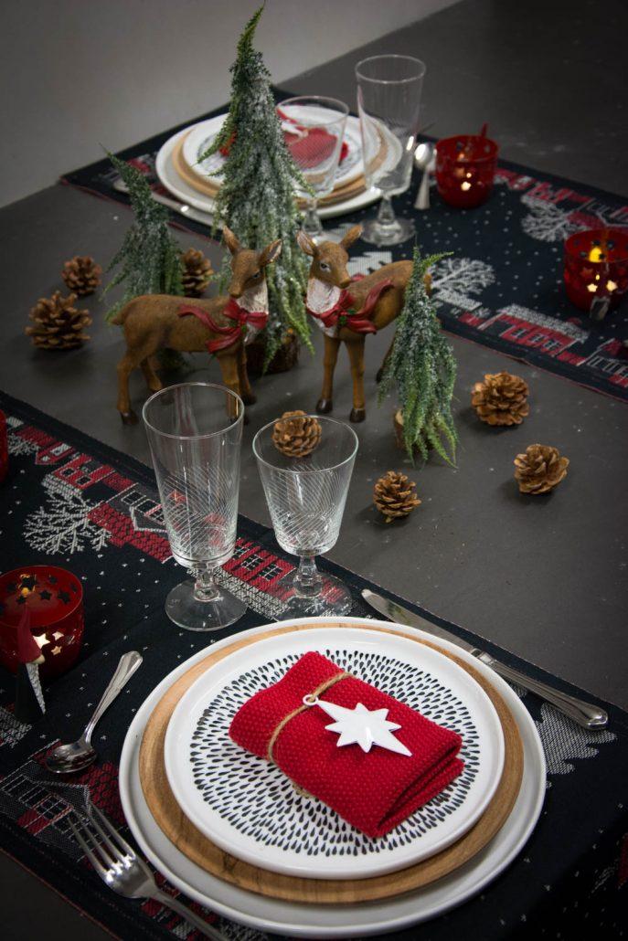 Bordopdækning jul