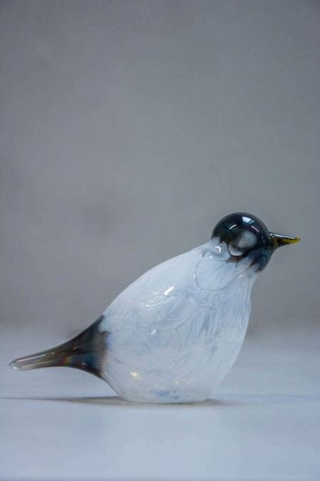 Glasfigurer - glasfugl - strandfugl