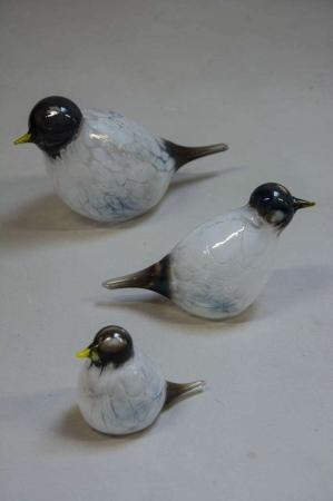 Glasfigurer - glasfugle - strandfugl