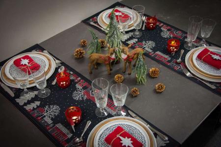 Julebord opdækning