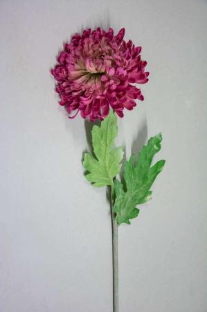 Kunstig lyserød blomst