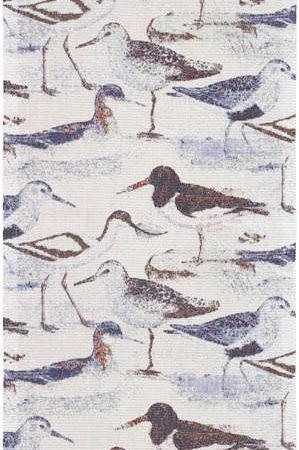 Økologisk blå bordløber med muslinger fra Ekelund - Strandfågel 35x120