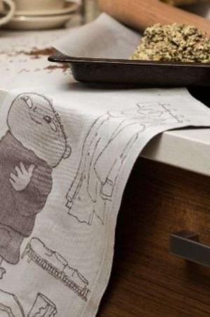 Ekelund Alfons Åberg På Väg viskestykkr i økologisk bomuld