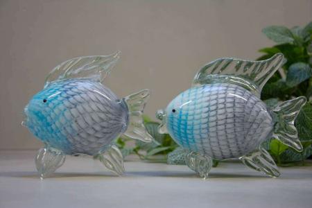 Glasfigurer - glasfisk