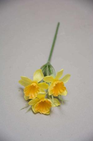 Kunstige blomster - gul påskelilje