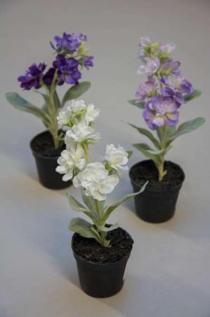 Kunstige blomster - løvkøj
