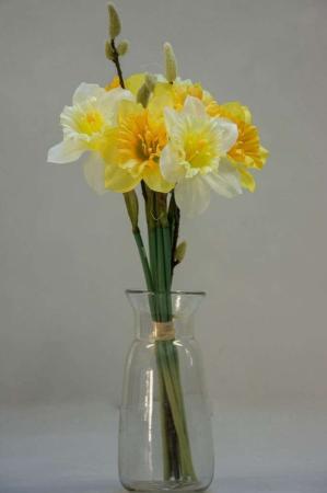 Påskelilje buket - kunstige blomster
